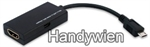 Handy - Zubeh�re, HTC Flyer Tablet HDMI Adapter