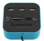 Bluetooth Speichermedien ,  Card Reader - USB HUB